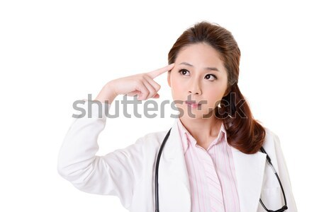 Idee vriendelijk asian arts vrouw Stockfoto © elwynn
