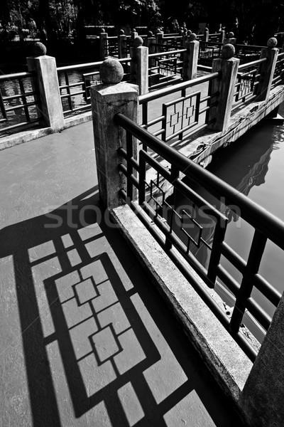 Dais nearby Sun Yat-Sen Memorial Hall Stock photo © elwynn