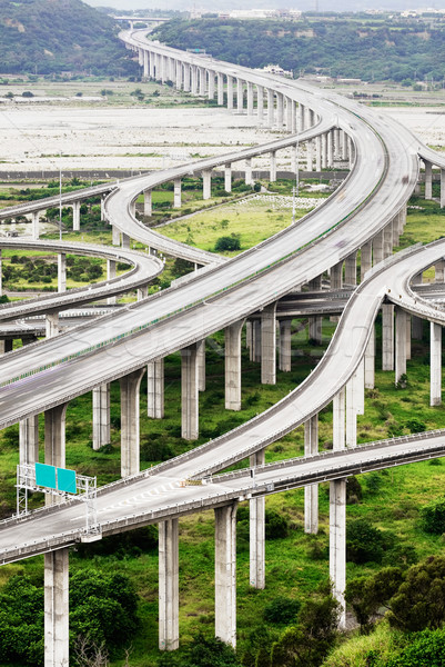 Architecture of highway Stock photo © elwynn