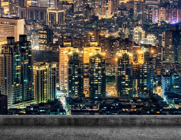 Taipei city night Stock photo © elwynn