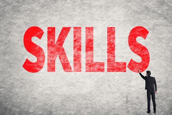 Skills Stock photo © elwynn