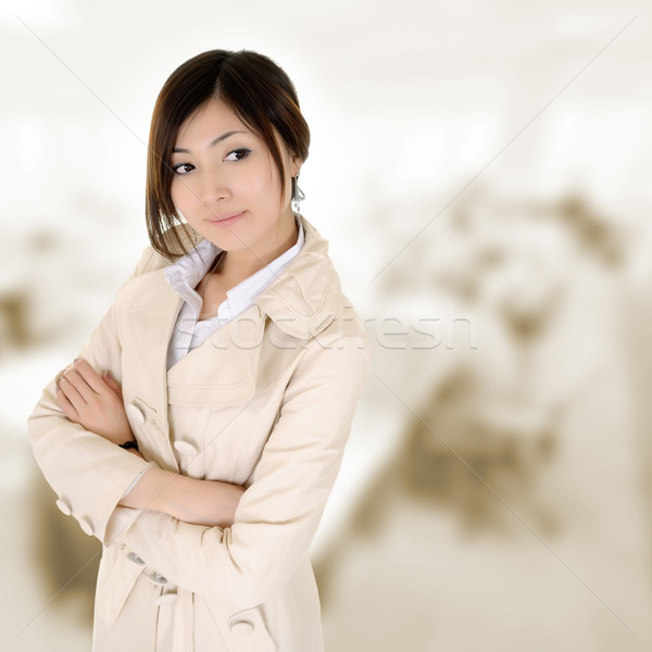 Confident business woman Stock photo © elwynn