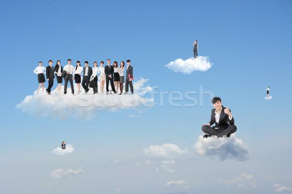 excellent cloud work Stock photo © elwynn