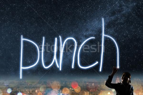 Concept of punch Stock photo © elwynn