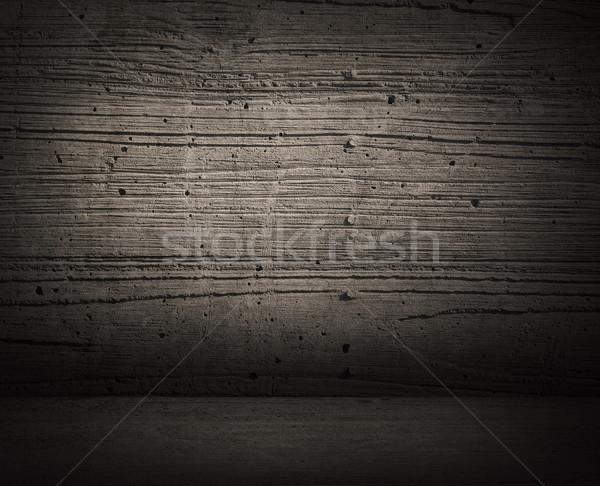 Grunge Zimmer Textur Innenraum alten schmutzigen Stock foto © elwynn