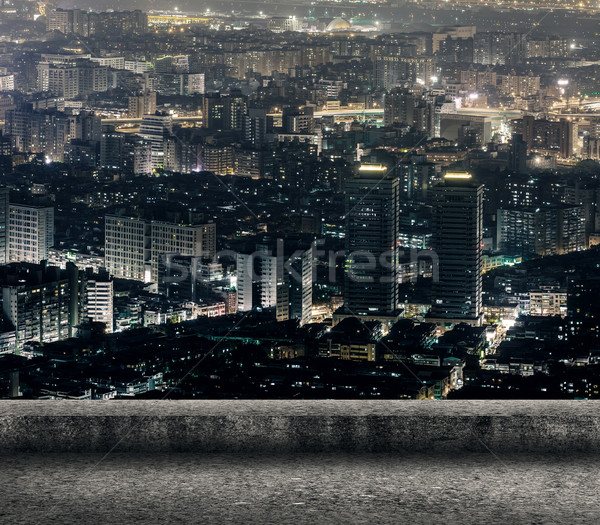 Taipei city night Stock photo © elwynn