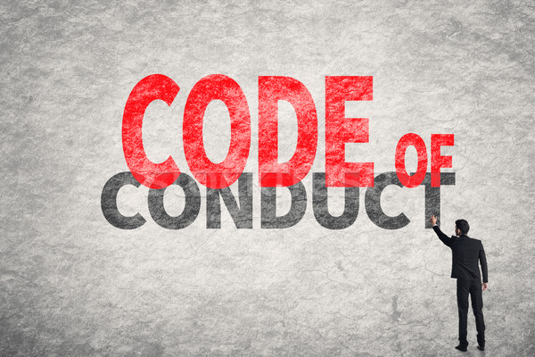 Code Of Conduct Stock photo © elwynn