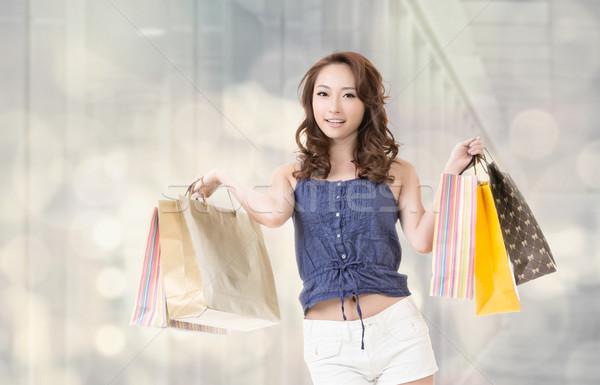shopping woman Stock photo © elwynn