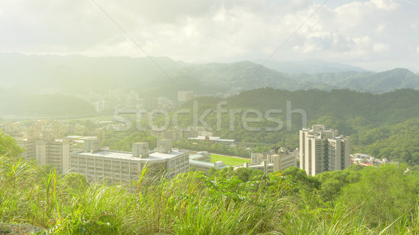 Taipei city skyline Stock photo © elwynn
