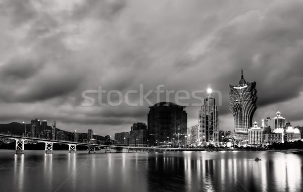Cityscape in Macao Stock photo © elwynn