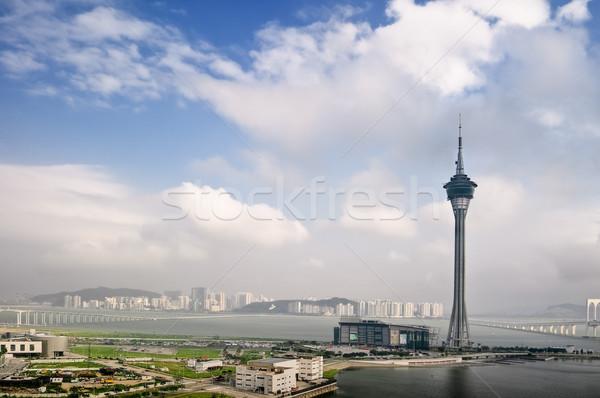 Macao cityscape Stock photo © elwynn