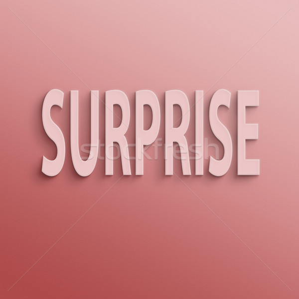 surprise Stock photo © elwynn
