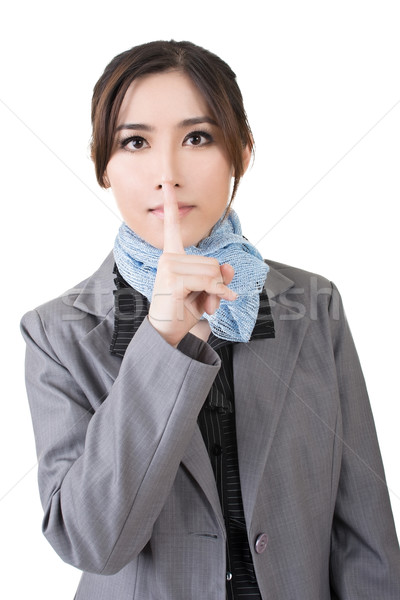 silent gesture Stock photo © elwynn