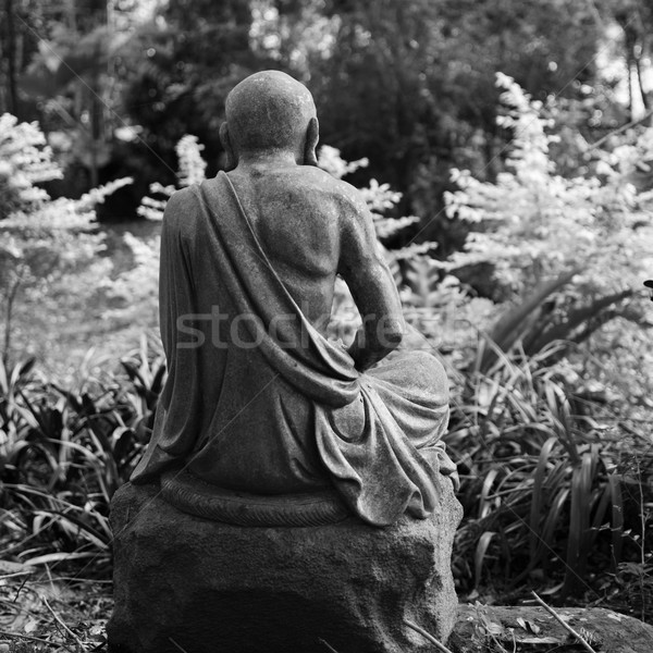 像 古い 黒白 写真 神 公園 ストックフォト © elwynn