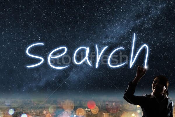 Concept of search Stock photo © elwynn