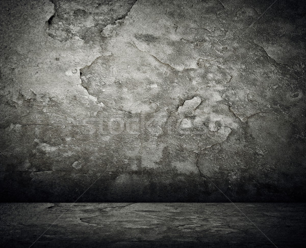 Grunge kamer textuur interieur oude vuile Stockfoto © elwynn
