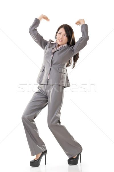 business woman under stress Stock photo © elwynn