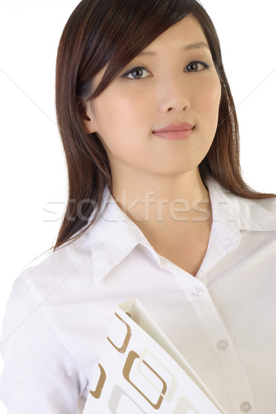 Successful Asian business woman Stock photo © elwynn
