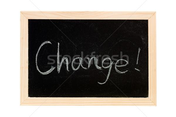Change Stock photo © elwynn