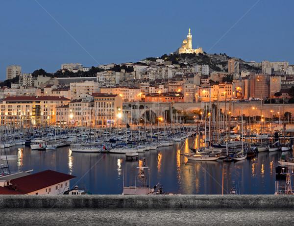 Marseille cityscape Stock photo © elwynn
