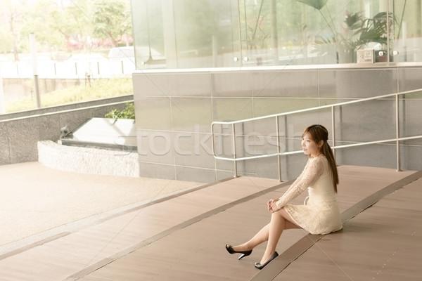 Asian beauty Stock photo © elwynn