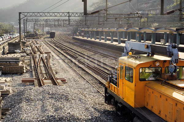 Train station Stock photo © elwynn