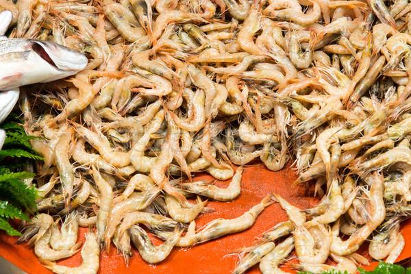 рынке Стамбуле продажи Турция рыбы оранжевый Сток-фото © elxeneize