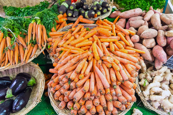 Carrots and other vegetables  Stock photo © elxeneize