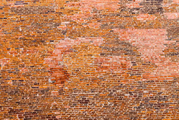 Old historic brickwall Stock photo © elxeneize