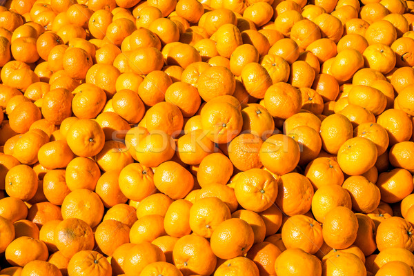 Clementines for sale at a market Stock photo © elxeneize