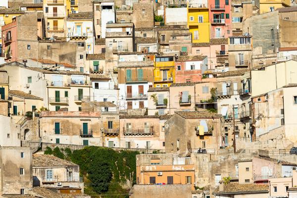 Zdjęcia stock: Szczegółowy · widoku · starówka · budynku · miasta · krajobraz