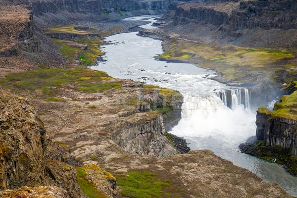 The Jokulsargljufur valley, Iceland Stock photo © elxeneize