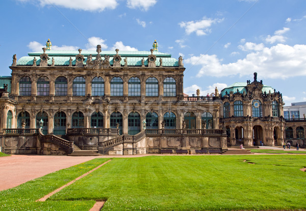 The Zwinger Palace in Dresden Stock photo © elxeneize