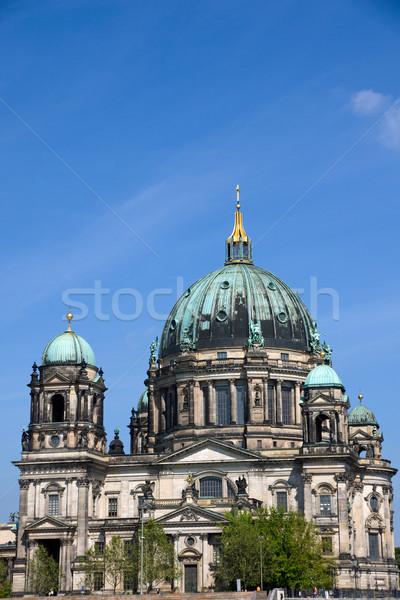 Berliner Dom Stock photo © elxeneize
