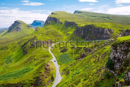 The Quiraings, Isle of Skye Stock photo © elxeneize