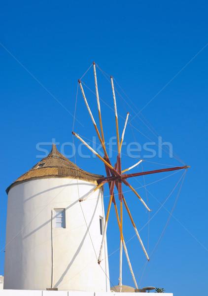 Traditional windmill Stock photo © elxeneize