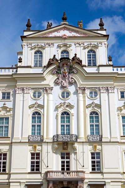 The Archbishop Palace in Prague Stock photo © elxeneize