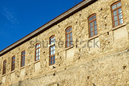 Old building seen in Chania, Crete Stock photo © elxeneize