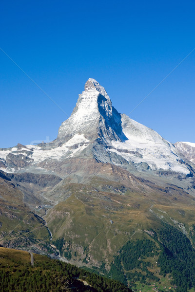 The gigantic Matterhorn Stock photo © elxeneize