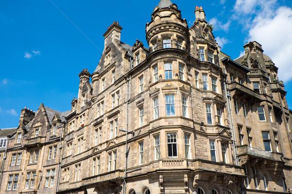 зданий Эдинбург старые Шотландии здании город Сток-фото © elxeneize