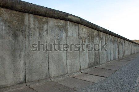 Nu gebruikt muur architectuur beton Stockfoto © elxeneize