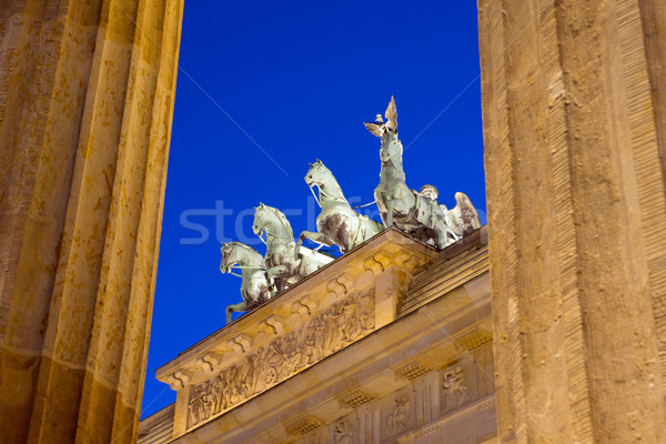 Berlins Brandenburger Tor Stock photo © elxeneize