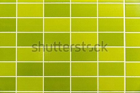 緑 タイル張りの 小 タイル 抽象的な 光 ストックフォト © elxeneize