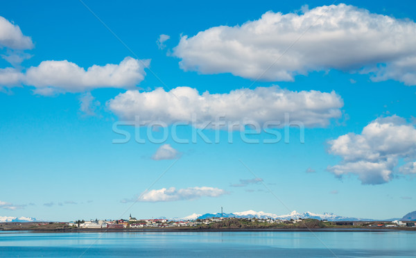 Borgarnes in Iceland  Stock photo © elxeneize