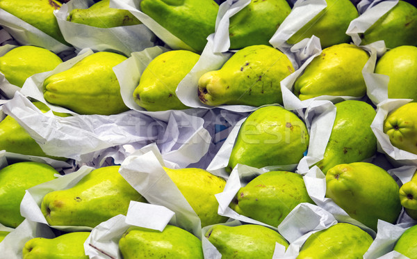 Green pears Stock photo © elxeneize