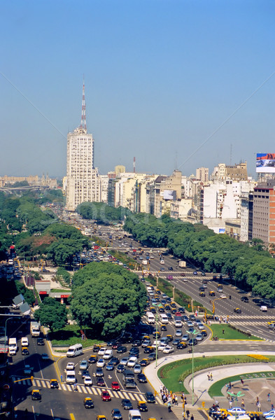 Буэнос-Айрес основной строительство автомобилей движения история Сток-фото © elxeneize