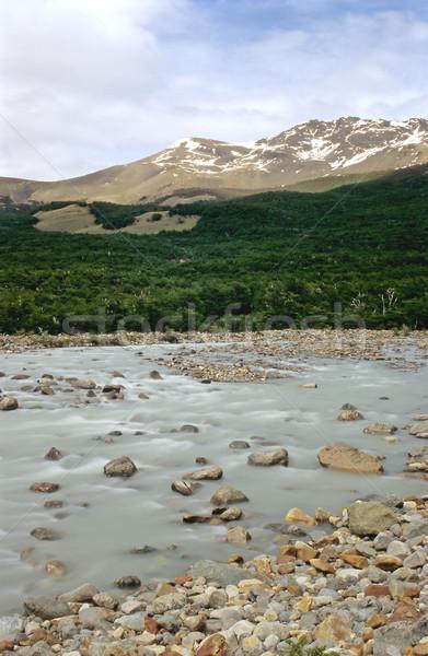 Rio Fitz Roy in Patagonia Stock photo © elxeneize