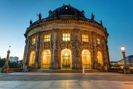 The Bode-Museum at the Museum Island in Berlin Stock photo © elxeneize