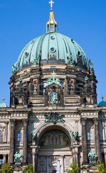 Detail of the Dom in Berlin Stock photo © elxeneize