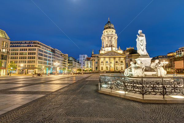 The Gendarmenmarkt in Berlin  Stock photo © elxeneize